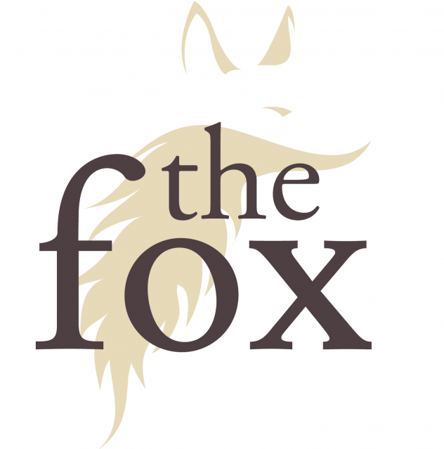 The Fox at Aspenden logo white cropped